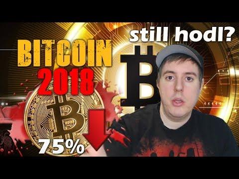 Bitcoin Tanks 75% in 2018 - Still Hodling into 2019?