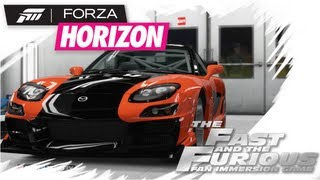 Forza Horizon - Ep.#7 -Operation The Fast And The Furious: Han's Rx-7Tutorial