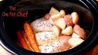 One Pot Slow Cooked Chicken Dinner | One Pot Chef