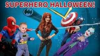 SUPERHERO HALLOWEEN SPECIAL!