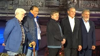 Star Wars: Galaxy's Edge opening ceremony with George Lucas, Harrison Ford, Mark Hamill, more