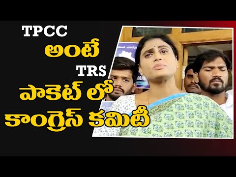 YS Sharmila slams Congress and BJP; expands TPCC with a new full form