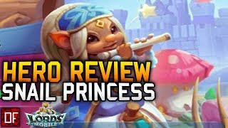 Hero Review of Snail Princess - Lords Mobile