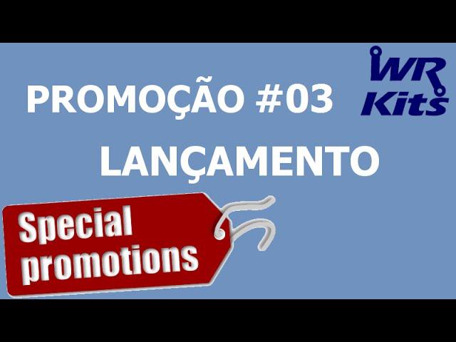 CONCORRA A UM KIT COMPONENTES E MUITO MAIS | Promoção #03