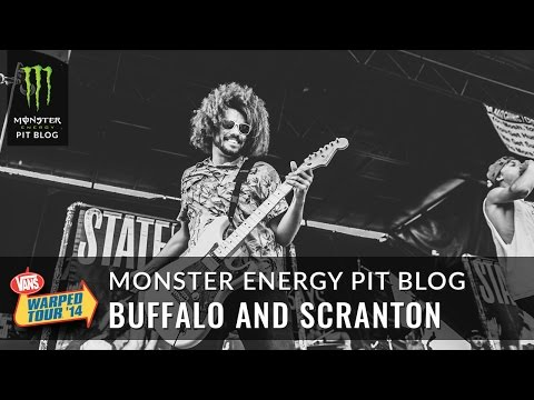 2014 Monster Energy Pit Blog 8 - Buffalo and Scranton - Vans Warped Tour  - VW37fvYQDDk -