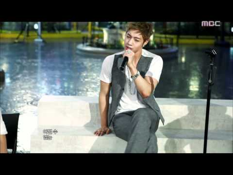 Kim Hyun Joong - Kiss Kiss, 김현중 - 키스 키스, Music Core 20110716