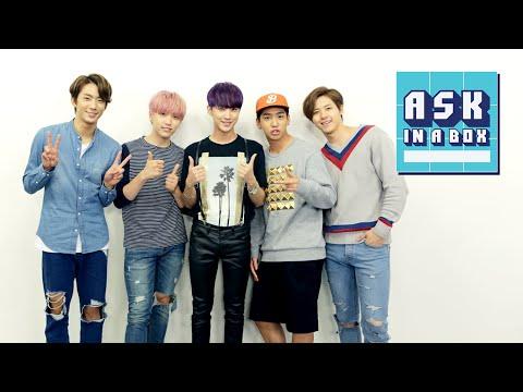 ASK IN A BOX: B1A4(비원에이포) _ Sweet Girl(스윗걸) [ENG/JPN/CHN SUB]