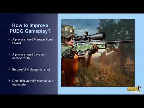 Tips to Upgrade your PUBG Gameplay Experience