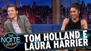 Entrevista com Tom Holland e Laura Harrier | The Noite (05/07/17)