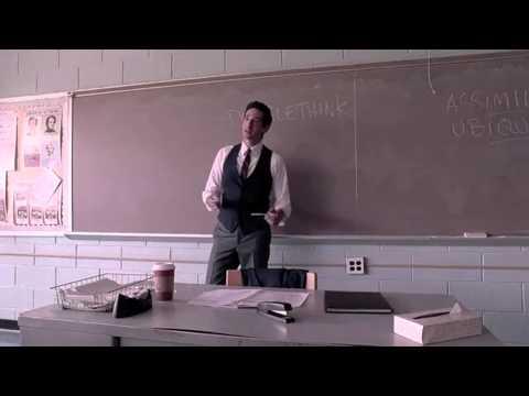 Detachment - il distacco - lezione in classe sulla società moderna