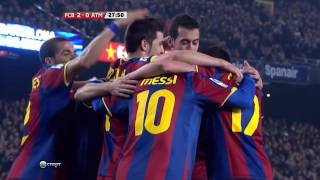 FC Barcelona's Possession & Passing From 2010-11 Season