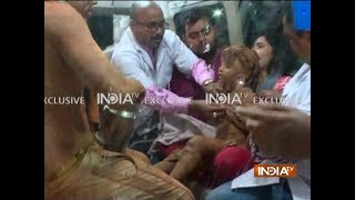 Exclusive | Munger rescue operation: First visuals of Sana after 32 hours ordeal in deep borewell