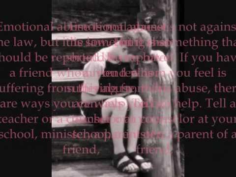 Child Emotional Abuse