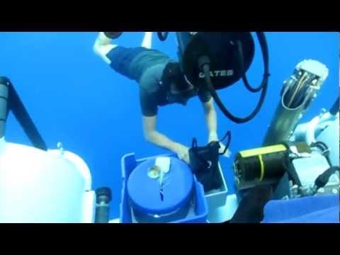 "Deep ""See"" Submarine at Cocos Island National Park"