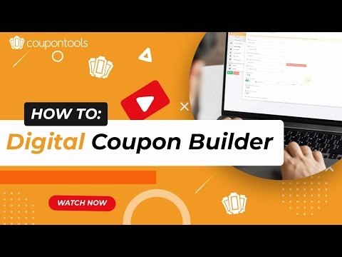 Videos Coupontools.com | Create coupons tutorial