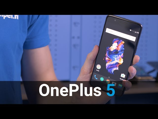 Belsimpel-productvideo voor de OnePlus 5 128GB Grey
