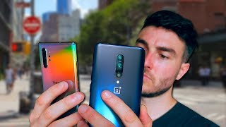 Samsung Galaxy Note 10 Plus vs OnePlus 7 Pro In New York!