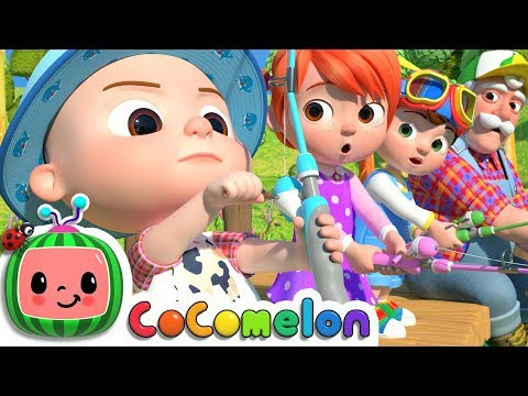 12345 Once I Caught A Fish Alive! 2 | CoCoMelon Nursery Rhymes & Kids Songs