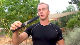 Real Combat Knife Fighting for the Street - How to Hold a Knife or Dagger