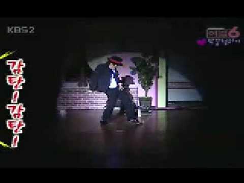 [공연]여걸6 - 김종민 마이클잭슨 춤(06-05-21)