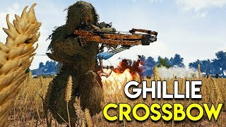 GHILLIE CROSSBOW - PUBG (Ghillie Crossing Event Mode)