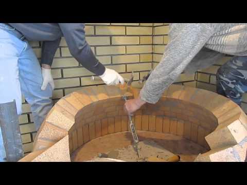Помпейская печь из кирпича