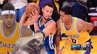 LIFE COMES AT YOU FAST! GOLDEN STATE WARRIORS vs LA LAKERS FULL HIGHLIGHTS REACTION!