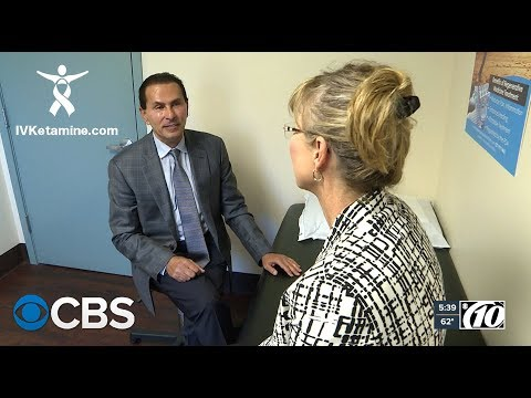 Dr. Hanna appears on CBS news describing his Ketamine Treatments for Depression