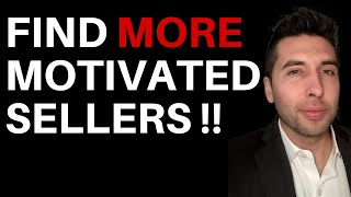 7 ways to find motivated sellers (deal flow 101)