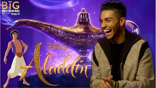 Mena Massoud on playing Aladdin, loving Abu, and Will Smith's interesting hair choices