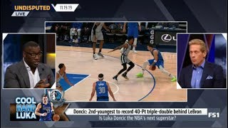 Skip and Shannon Debate Is Luka Doncic the NBA's next superstar? | Undisputed