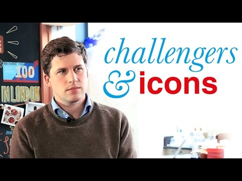 Challengers & Icons™ interview  Season 2. Episode 8: Anthony Fletcher, CEO at graze.