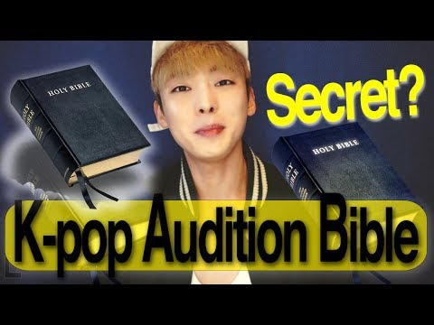 How to become a Kpop idol?