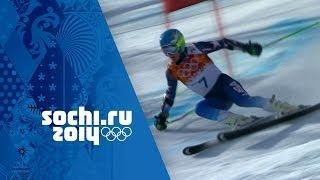 Men's Giant Slalom - Ligety Wins Gold | Sochi 2014 Winter Olympics