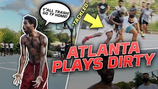 They TACKLED ME Out Of Bounds & Got EXPOSED (Mic'd Up 5v5 In Atlanta)