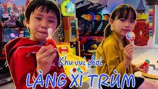 Stin Dâu Đi Khu Vui Chơi (^_^) Stin Dâu Khám Phá Làng Xì Trum TTTM Nowzone
