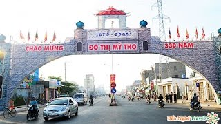 Mỹ Tho đi Trung Lương, Long Định Tiền Giang  Dec,23,2016