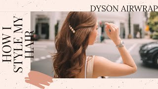 How I Style My Hair + The Dyson Airwrap Review & Tutorial! | Kryz Uy