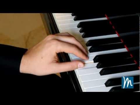 Posición de los dedos en el piano - Aprende piano con Música para Todos ®