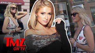 Paris Hilton Rides The Shade Train Into Khloe Kardashian | TMZ TV