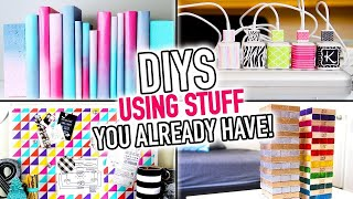 6 DIYS Using Stuff You Already Have Around Your House! ~ DIY Compilation Video - HGTV Handmade