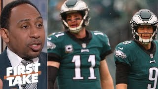 Nick Foles or Carson Wentz: Who deserves to start for the Eagles in 2019?   First Take