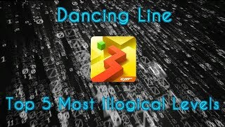 Dancing Line - Top 5 Most Illogical Levels
