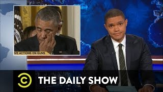 President Obama Targets Gun Violence: The Daily Show