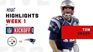 Tom Brady's Big Night w/ 341 Yds & 3 TDs | NFL 2019 Highlights