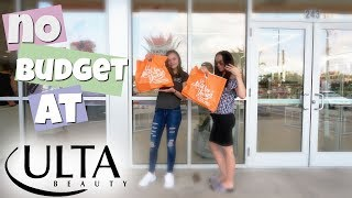 NO BUDGET SHOPPING CHALLENGE AT ULTA BEAUTY! MOM VS DAUGHTER