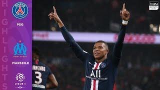 PSG 4 - 0 Marseille - HIGHLIGHTS & GOALS - 10/27/19