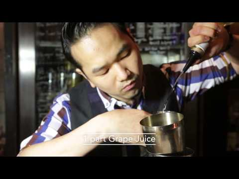 Best Bartender cocktail at Ori-Gin by Antonio Lai