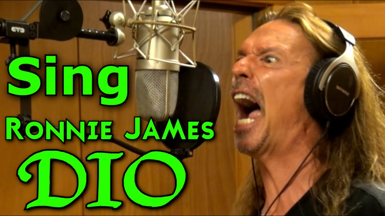 how to sing like ronnie james dio youtube. Black Bedroom Furniture Sets. Home Design Ideas