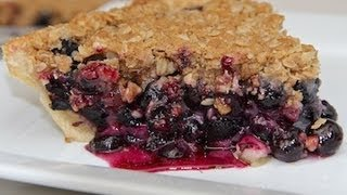 Fresh Blueberry Crumb Pie Recipe
